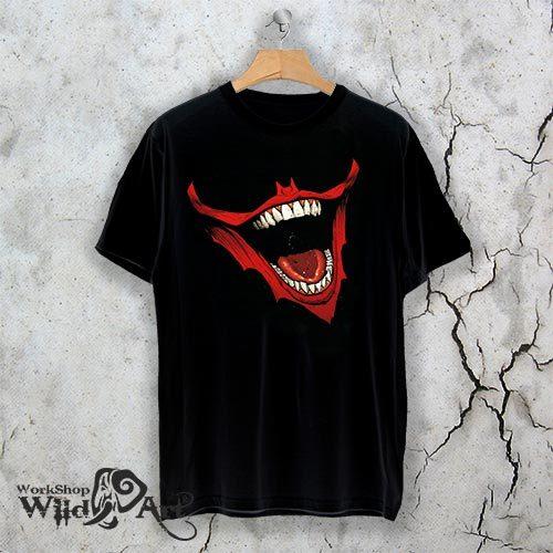 Тениска за Хелоуин Creepy smile W 1146