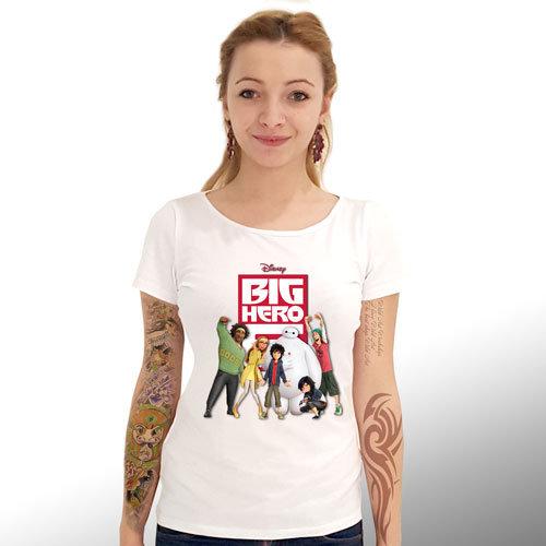 """Дамска Тениска – """"Big Hero 6/ Героичната Шесторка"""" K 1061"""