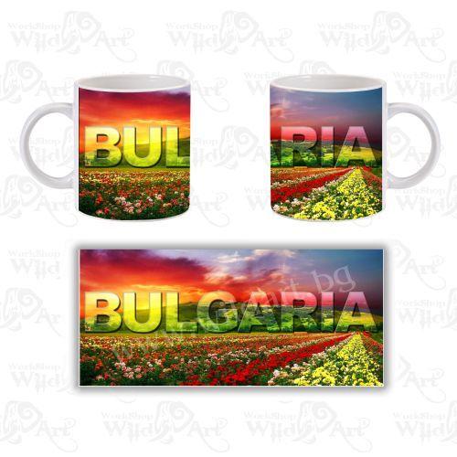 Чаша Bulgaria Land of Roses
