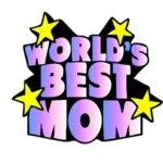 """Дамска Тениска – """"World's Best Mom /Най-Добрата Майка на Света"""" N1071"""