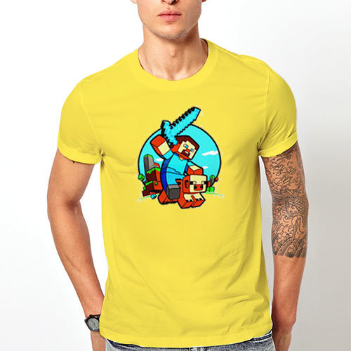 "Тениска – ""Minecraft / Майкрафт"" К 2052"