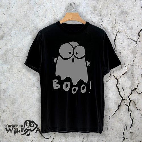 Тениска за Хелоуин BOO!! W 1154