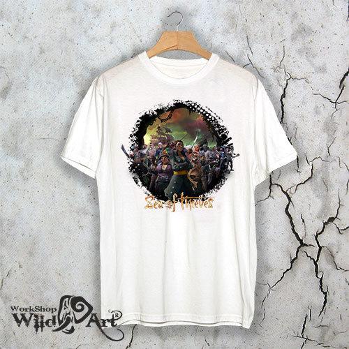 Геймърска тениска Sea of Thieves SOT07