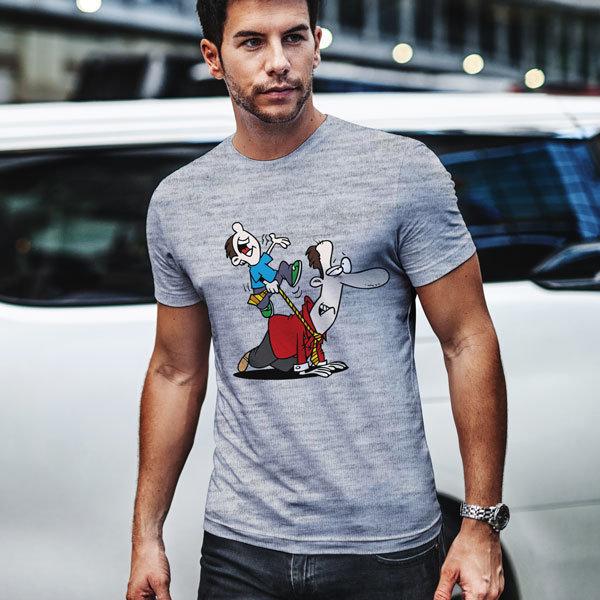 Тениска Аз и татко N1041