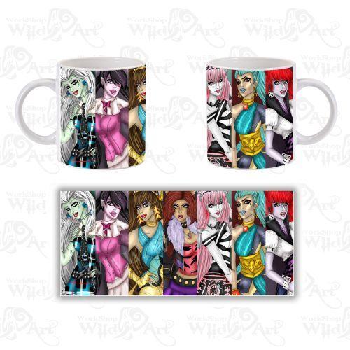 Чаша Monster High 2