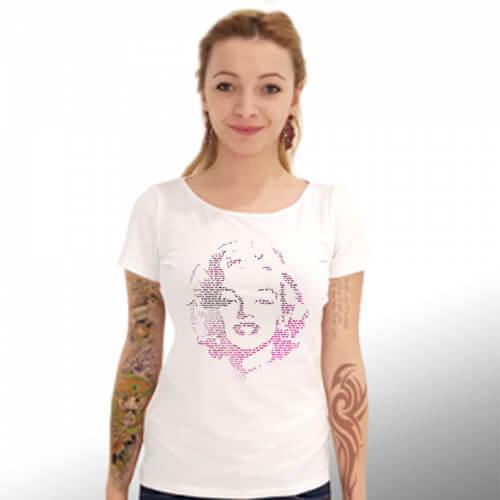 "Дамска Тениска – ""Marilyn Monroe / Мерилин Монро"" К 4026"