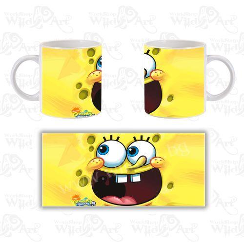 Чаша Sponge Bob