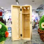 """Дървена кутия за вино """"Юбилей"""" 5"""