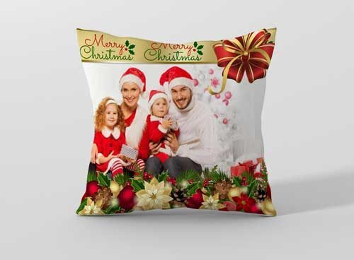 Коледна възглавничка по ваш дизайн CHR5
