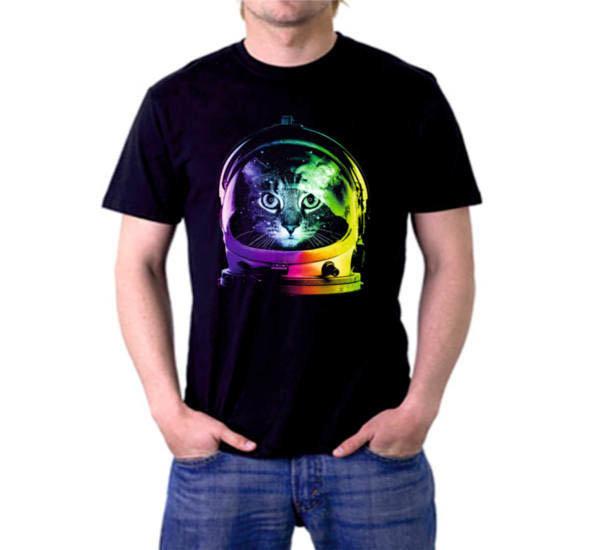 Тениска Art котка астронафт 4514