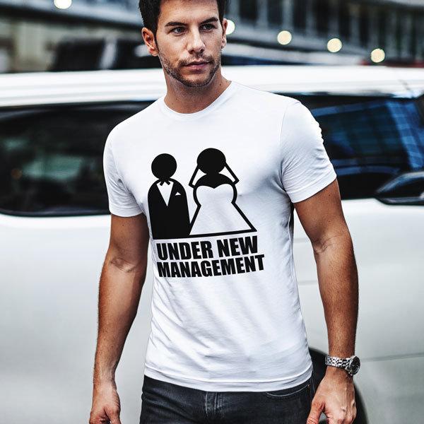 Тениска Under New Management N1019