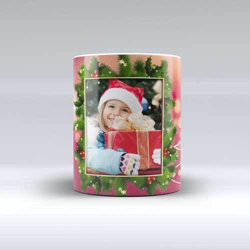 Чаша за Коледа с ваш дизайн Весела Коледа, Дядо 6