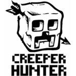 """Тениска – """"Minecraft -Creeper Hunter /  Майнкрафт"""" К 2021"""