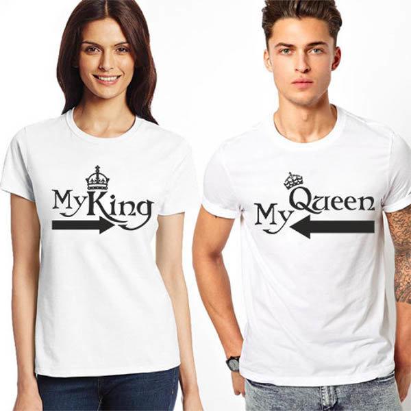 Тениски за двойки My King / Queen K 8058/K 8059