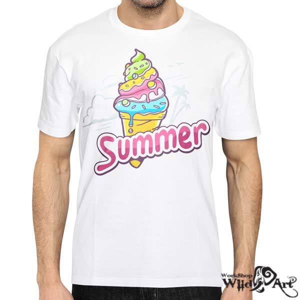 Лятна тениска с щампа Ice Cream Summer