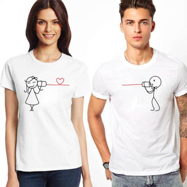 Тениски за двойки - телефон