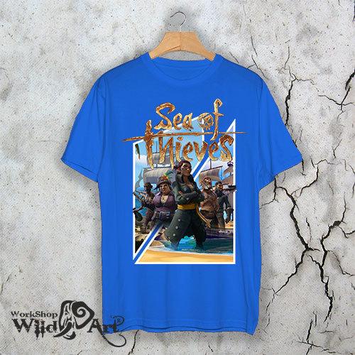 Геймърска тениска Sea of Thieves SOT05