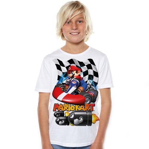 Тениска – Mario Kart F48