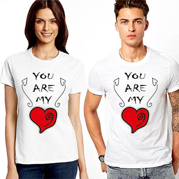 Тениски за двойки You are my heart