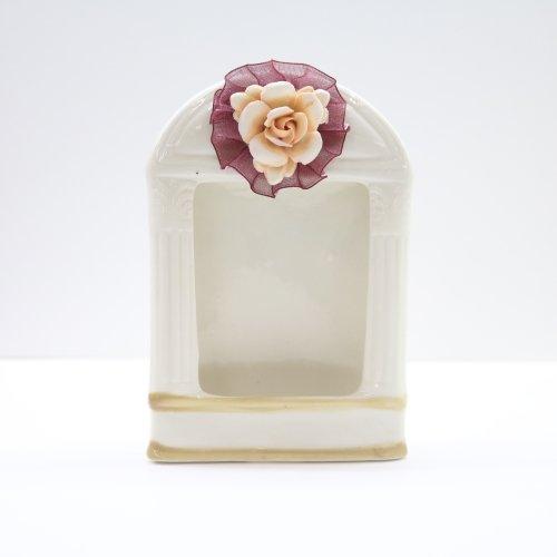 Винтидж керамична рамка 14×9