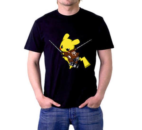 Тениска Art Пикачу 4523