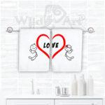 Комплект хавлии за баня LOVE N1055