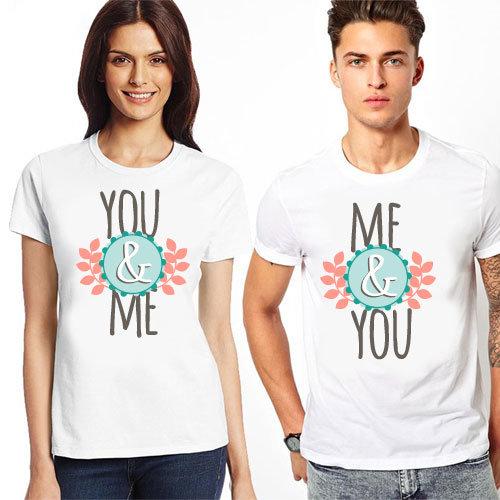 """Комплект тениски """"You & Me"""" 2"""