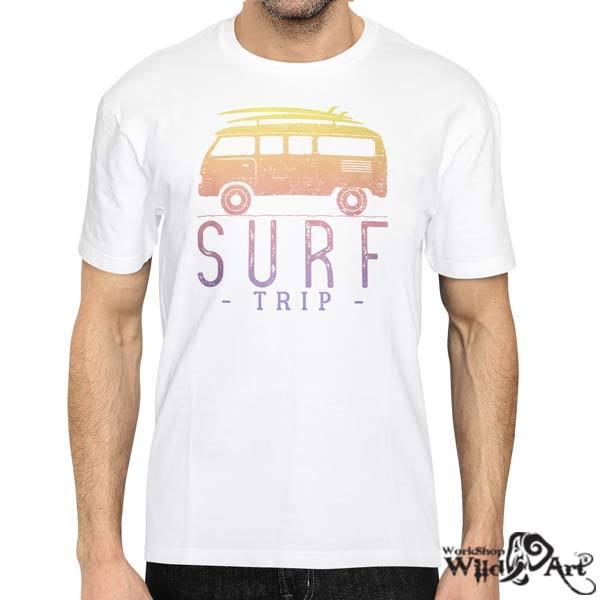 Лятна тениска с щампа Surf trip
