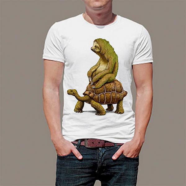 Тениска с констенурка и лемур Art 4522