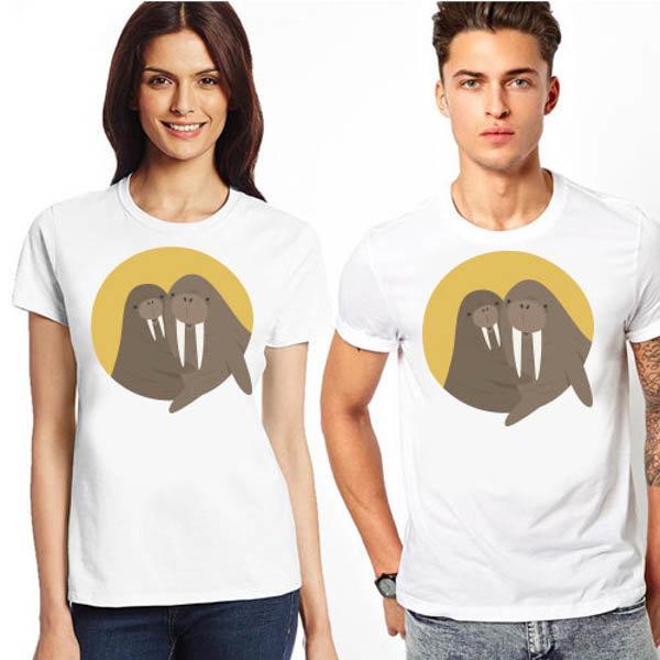 """Комплект тениски """"Animal Love – Тюленчета"""""""
