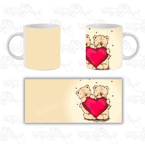 Чаша Bear Heart