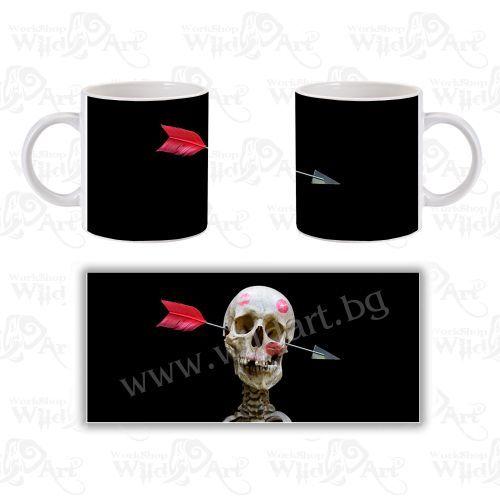 Чаша Skull Love