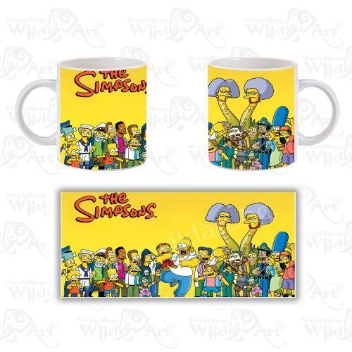 Чаша The Simpsons