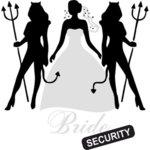 """Дамска Тениска – """"Bride security / Охрана на булката"""" N1021"""