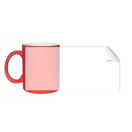 Червена неонова чаша