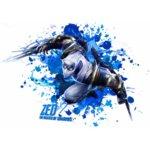"""Тениска – """"League of Legends – Zed""""К 2014"""