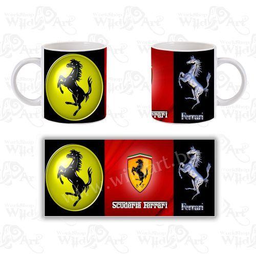 Чаша Scuderia Ferrari