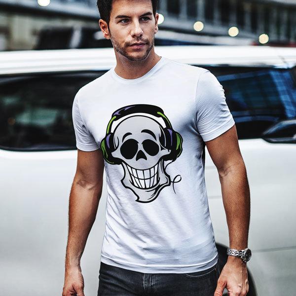 Тениска Лудият DJ N1127