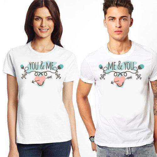 """Комплект тениски """"You & Me"""" 3"""