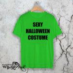 Тениска за Хелоуин Sexy Costume W 1152