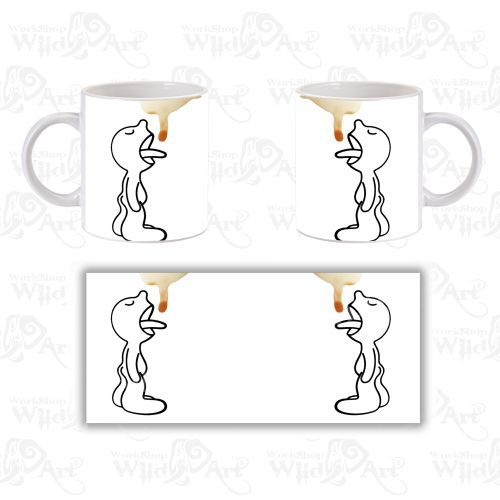 Чаша Last Coffee Drop