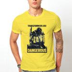 "Тениска – ""Transformers Are Dangerous"" K 1016"