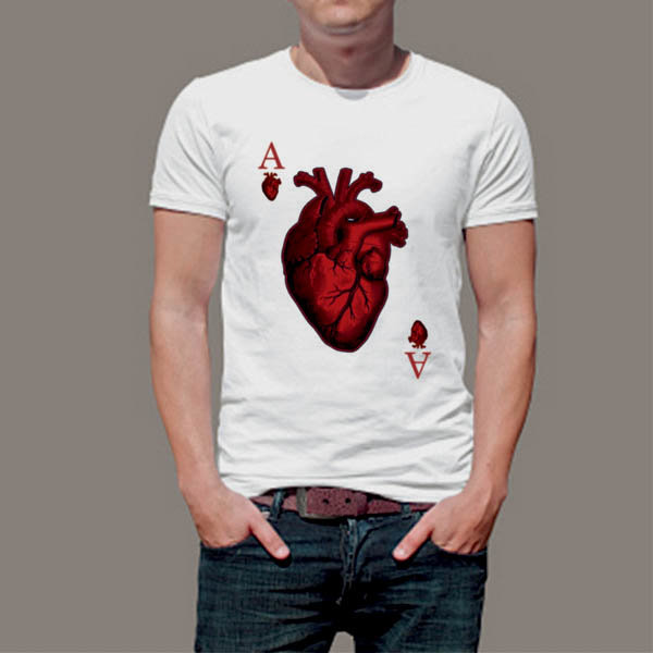 Тениска Art Сърце Асо 4656