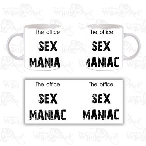 Чаша The Office Maniac