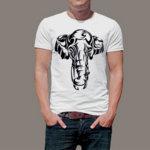 Тениска Art Слон 4744