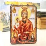 Икона Пресвета Богородица Троеручица