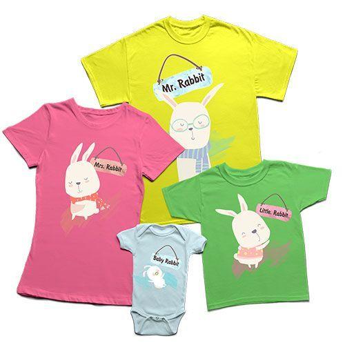 Семейни тениски за Великден FR01
