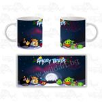 Чаша Angry Birds Christmas