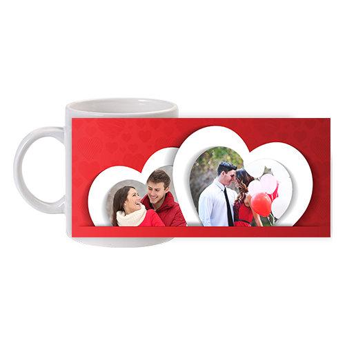 Чаша със сърца за двойки