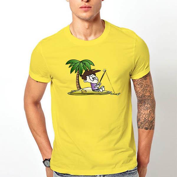 Тениска Рибарят и островът N1013